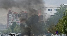 Terrorist attack near Ministry of Agriculture in Kabul